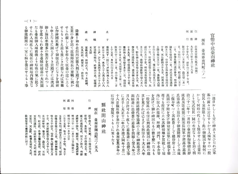 本書內文:神社部份內容